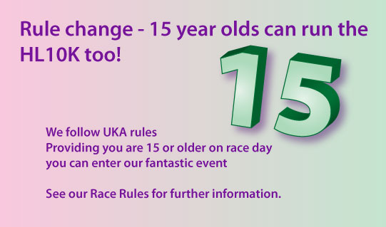 15 Year olds can run too!